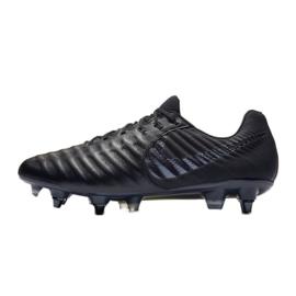 Buty piłkarskie Nike Tiempo Legend 7 Elite Sg Pro Ac M AR4387-001 czarne czarne 1