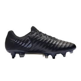 Buty piłkarskie Nike Tiempo Legend 7 Elite Sg Pro Ac M AR4387-001 czarne czarne 3
