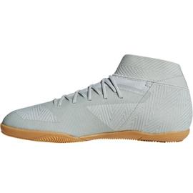 Buty halowe adidas Nemeziz Tango 18.3 In M DB2197 białe wielokolorowe 2