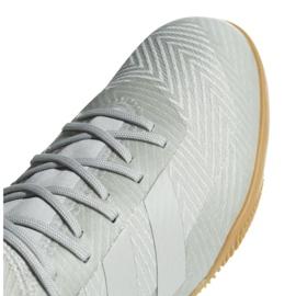 Buty halowe adidas Nemeziz Tango 18.3 In M DB2197 białe wielokolorowe 3