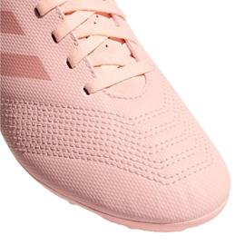 Buty piłkarskie adidas Predator 18.4 FxG Jr DB2322 różowy różowe 3