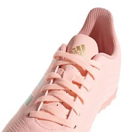 Buty piłkarskie adidas Predator Tango 18.4 Tf Jr DB2339 różowe różowy 3