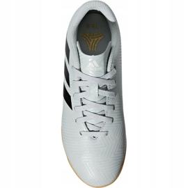 Buty halowe adidas Nemeziz Tango 18.4 In Jr DB2383 białe czarny, biały 1