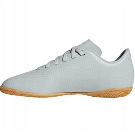 Buty halowe adidas Nemeziz Tango 18.4 In Jr DB2383 białe czarny, biały 2