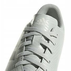 Buty halowe adidas Nemeziz Tango 18.4 In Jr DB2383 białe czarny, biały 3