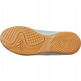 Buty halowe adidas Nemeziz Tango 18.4 In Jr DB2383 białe czarny, biały 6