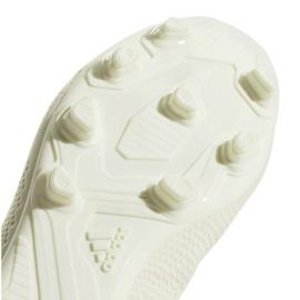 Buty piłkarskie adidas X 18.4 Fg M DB2187 beżowy białe 5