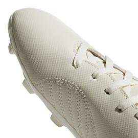 Buty piłkarskie adidas X 18.4 FxG Jr DB2421 białe białe 3