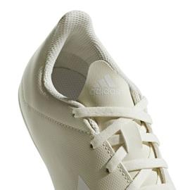 Buty piłkarskie adidas X 18.4 FxG Jr DB2421 białe białe 4