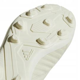 Buty piłkarskie adidas X 18.4 FxG Jr DB2421 białe białe 5