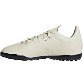 Buty piłkarskie adidas X Tango 18.4 Tf Jr DB2436 białe wielokolorowe 2