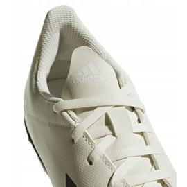 Buty piłkarskie adidas X Tango 18.4 Tf Jr DB2436 białe wielokolorowe 3