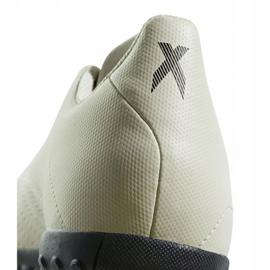 Buty piłkarskie adidas X Tango 18.4 Tf Jr DB2436 białe wielokolorowe 4