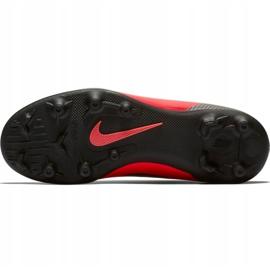 Buty piłkarskie Nike Mercurial Vapor 12 Club Gs CR7 FG/MG Jr AJ3095-600 czerwone wielokolorowe 6