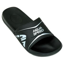 Klapki Aqua-Speed Dakota M kol.7 czarne 1