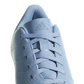 Buty piłkarskie adidas Nemeziz Messi 18.4 FxG Jr DB2368 niebieskie wielokolorowe 3