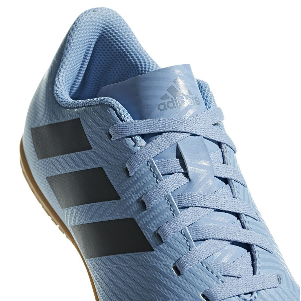 Kod kuponu najwyższa jakość nowe wydanie Buty halowe adidas Nemeziz Messi Tango In Jr DB2397 niebieskie niebieski