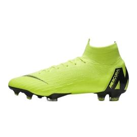 Buty piłkarskie Nike Mercurial Superfly 6 Elite Fg M AH7365-701 żółte żółte 1