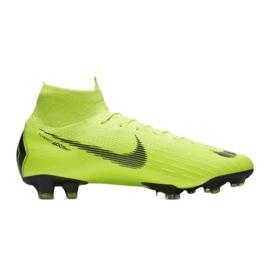 Buty piłkarskie Nike Mercurial Superfly 6 Elite Fg M AH7365-701 żółte żółte 3