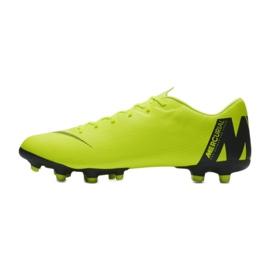 Buty piłkarskie Nike Mercurial Vapor 12 Academy Fg M AH7375-701 żółte żółte 1