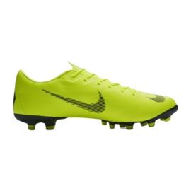 Buty piłkarskie Nike Mercurial Vapor 12 Academy Fg M AH7375-701 żółte żółte 3