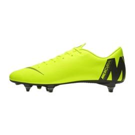 Buty piłkarskie Nike Mercurial Vapor 12 Academy Sg Pro M AH7376-701 zielone wielokolorowe 1