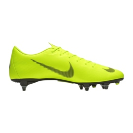 Buty piłkarskie Nike Mercurial Vapor 12 Academy Sg Pro M AH7376-701 zielone wielokolorowe 3