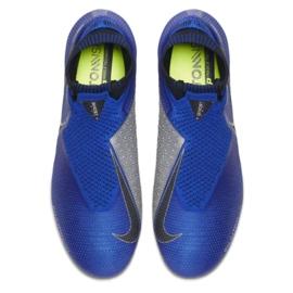 Buty piłkarskie Nike Phantom Vsn Elite Df Sg Pro Ac M AO3264-400 niebieskie niebieskie 1
