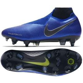 Buty piłkarskie Nike Phantom Vsn Elite Df Sg Pro Ac M AO3264-400 niebieskie niebieskie 2