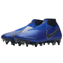 Buty piłkarskie Nike Phantom Vsn Elite Df Sg Pro Ac M AO3264-400 niebieskie niebieskie 3