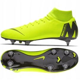 Buty piłkarskie Nike Mercurial Superfly 6 Academy Sg Pro M AH7364-701 żółte wielokolorowe 2