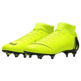 Buty piłkarskie Nike Mercurial Superfly 6 Academy Sg Pro M AH7364-701 żółte wielokolorowe 3