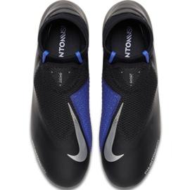 Buty piłkarskie Nike Phantom Vsn Academy Df M FG/MG AO3258-004 czarne wielokolorowe 1
