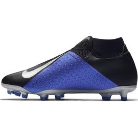 Buty piłkarskie Nike Phantom Vsn Academy Df M FG/MG AO3258-004 czarne wielokolorowe 2