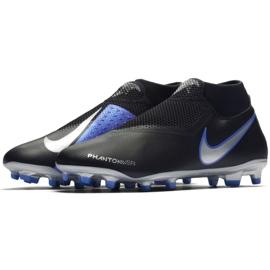 Buty piłkarskie Nike Phantom Vsn Academy Df M FG/MG AO3258-004 czarne wielokolorowe 3