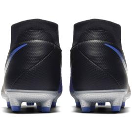 Buty piłkarskie Nike Phantom Vsn Academy Df M FG/MG AO3258-004 czarne wielokolorowe 4