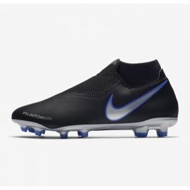 Buty piłkarskie Nike Phantom Vsn Academy Df M FG/MG AO3258-004 czarne wielokolorowe 8