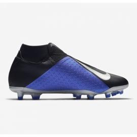 Buty piłkarskie Nike Phantom Vsn Academy Df M FG/MG AO3258-004 czarne wielokolorowe 10
