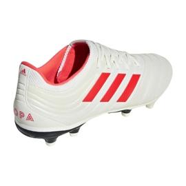 Buty piłkarskie adidas Copa 19.3 Fg M BB9187 biały białe 1