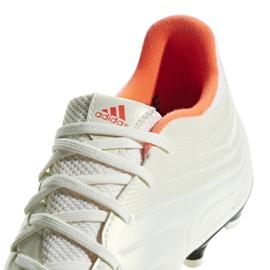 Buty piłkarskie adidas Copa 19.3 Fg M BB9187 białe białe 3