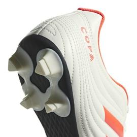 Buty piłkarskie adidas Copa 19.4 Sg M D98067 białe wielokolorowe 3