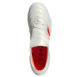 Buty piłkarskie adidas Copa Gloro 19.2 Sg M G28989 białe wielokolorowe 2