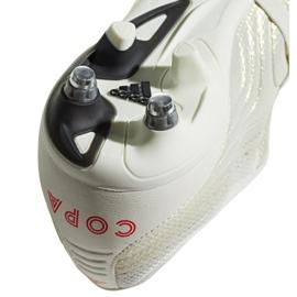 Buty piłkarskie adidas Copa Gloro 19.2 Sg M G28989 białe wielokolorowe 3