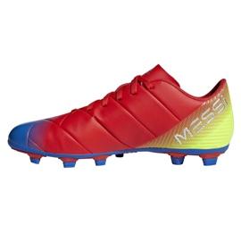 Buty piłkarskie adidas Nemeziz Messi 18.4 FxG M D97273 wielokolorowe wielokolorowe 1