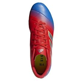 Buty piłkarskie adidas Nemeziz Messi 18.4 FxG M D97273 wielokolorowe wielokolorowe 2