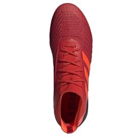 Buty piłkarskie adidas Predator 19.1 Sg M D98054 czerwone czerwone 2