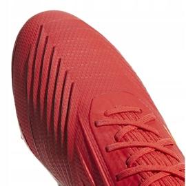 Buty piłkarskie adidas Predator 19.2 Fg M D97940 czerwony czerwone 3