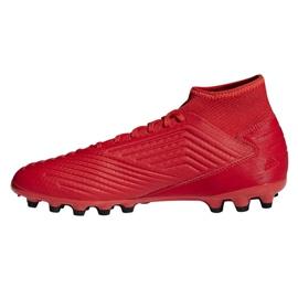 Buty piłkarskie adidas Predator 19.3 Ag M D97944 czerwone czerwone 1