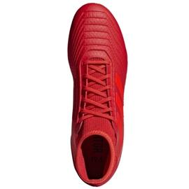 Buty piłkarskie adidas Predator 19.3 Ag M D97944 czerwone czerwone 2