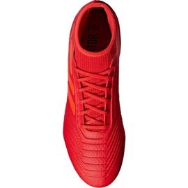 Buty piłkarskie adidas Predator 19.3 Fg M BB9334 czerwone wielokolorowe 5